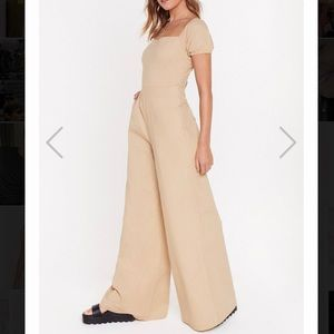 Nasty Gal Wide Leg Jumpsuit